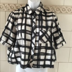 🌸 3 for $20 🌸 Topshop Cropped Blouse Top sz. 4